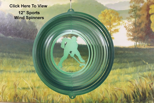 "12"" Sports Wind Spinners"